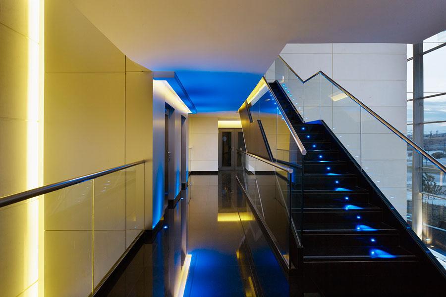 Proyecto de iluminaci n del cps de getafe for Oficinas bankia getafe