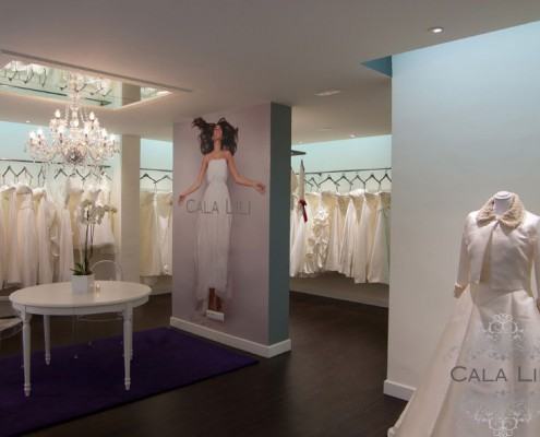 Con Luz Propia- Imagen de la iluminación interior de la tienda de Cala Lili